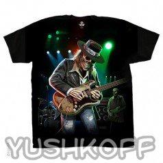 Давно хотели сходить на концерт? У вас появился шанс взять концерт собой! Легендарная футболка из США.