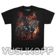 Смерть верхом на коне. Легендарная футболка из США.