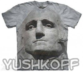 Джордж Вашингтон на футболке! Красотааа....
