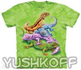 Одна из самых жизнерадостных футболок бренда The Mountain! ;-) Да и мона сказать всего мира!!! Зуб даём!!!