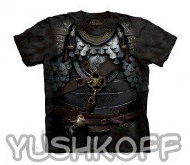 Детская футболока с рыцарскими доспехами