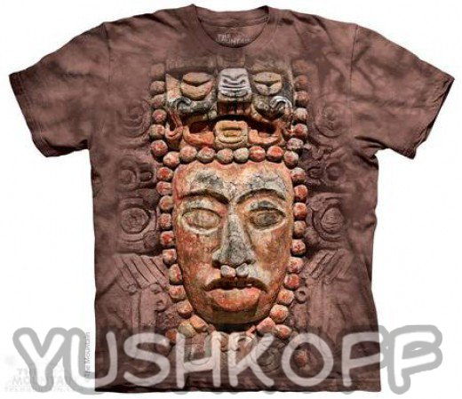 Этнические рисунки племени Майя