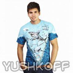 Самые великие белые акулы. Легендарная футболка из США.