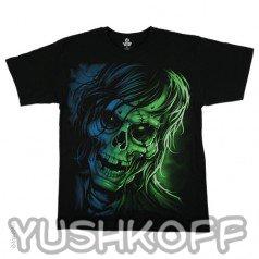 Зомби на футболке не просто так... К Добру...
