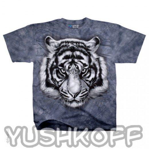 Самый яростный тигр. Легендарная футболка из США.