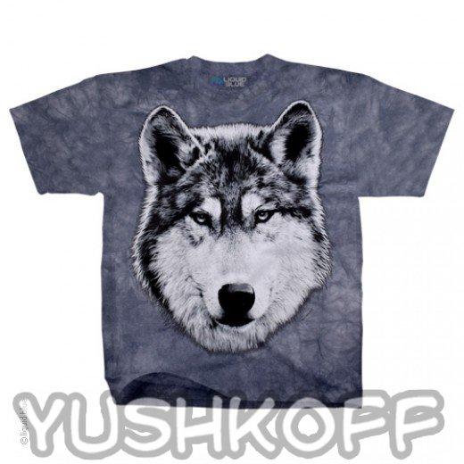 Самый яростный волк. Легендарная футболка из США.